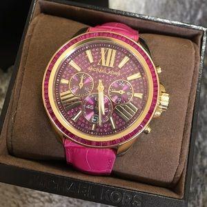New Pink Michael Kors Watch